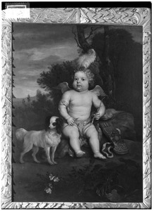 Portret van Reinout Gerard van Tuyll van Serooskerke (1677-1729), als Cupido