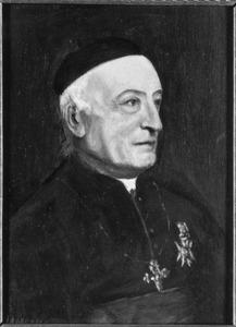 Portret van pastoor Henricus Poppen (1816-1897), deken van Amsterdam