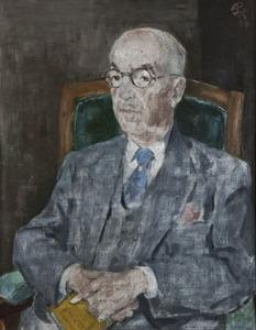 Portret van Willem Cornelis Mees (1882-1970)