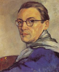 Zelfportret van Theo Swagemakers (1898-1994)