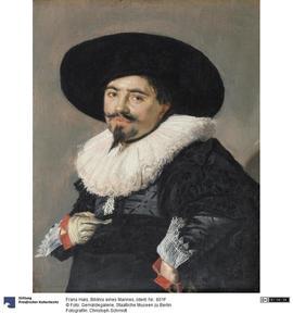 Potret van een onbekende man