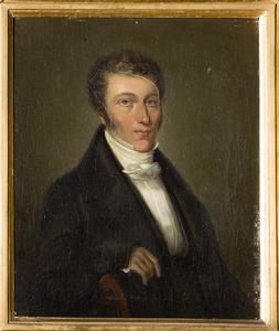 Portret van Alexander baron van Rhemen van Rhemenshuyzen (1783-1822)