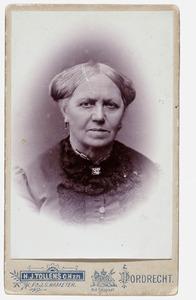 Portret van grootma de Jongh (overleden 1895)