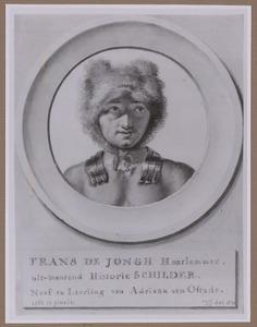 Portret van de kunstenaar Frans de Jongh (?-1705)