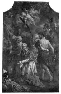 De onthoofding van de H. Cornelius van Civita Vecchia