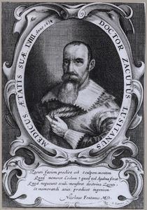 Portret van Abraham Zacuto (1575-1642)