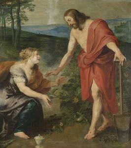 'Noli me tangere': de ontmoeting van Christus en Maria Magdalena