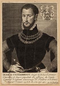 Portret van Jehan de Casembroot (1525-1568)