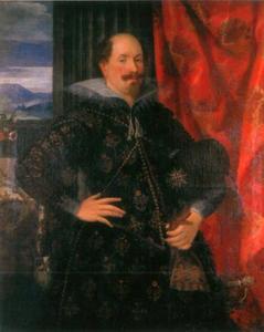 Portret van Ernst zu Holstein-Schaumburg (1569-1622)