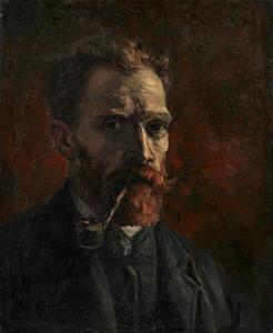 Zelfportret van Vincent van Gogh (1853-1890)