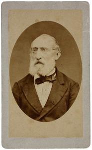 Portret van een man, mogelijk Frederik Jacob Anthon Wilmar (1816...)
