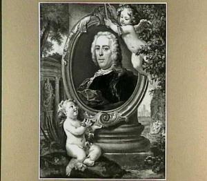 Portret van Pieter Rabus Jr. (1693-1752)
