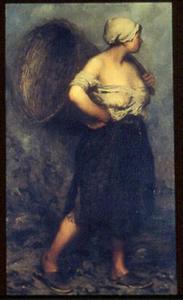 Vissersvrouw in Dieppe