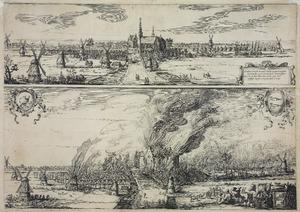 Het dorp De Rijp voor en tijdens de brand van 1654