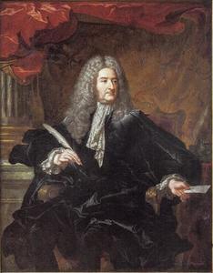 Portret van Michel-Robert Le Pelletier des Forts