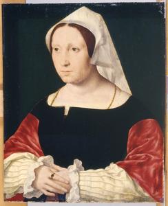Portret van  Anna Laurensdr. van Spangen (...-1548)