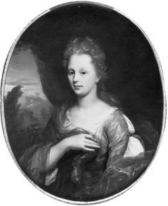 Portret van Jacoba Margaretha Klopper (1671-1719)
