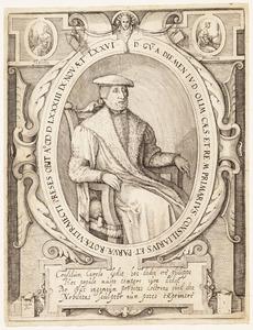 Portret van Willem van Diemen (1507-1583)