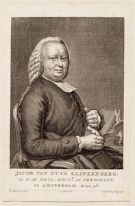 Portret van Jacobus van Nuys Klinkenberg (1744-1817)
