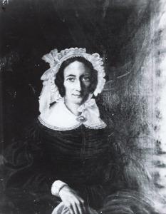 Portret van Christina Margaretha Bernardina Luyken (1797-1849)