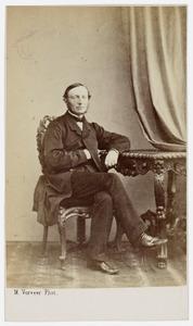 Portret van Johannes Andreas Truter (1816-1872)