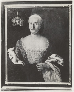 Portret van Susanna Maria van Pabst (1715- )
