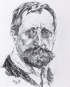 Portret van Wilhelmus Hendrikus Petrus Johannes de Zwart (1862-1931)