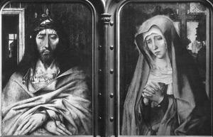Christus als Man van Smarten en Maria als Mater Dolorosa