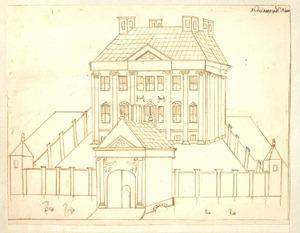Huis Berenkamp bij Nijkerk anno 1648