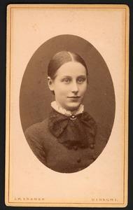 Portret van Pauline Brondgeest