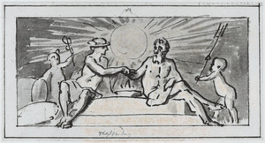 Allegorie op de Koophandel en de Zeevaart