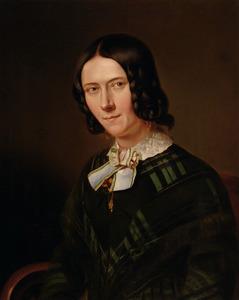 Portret van Anna Maria ('Moggemie') Mogge Muilman (1811-1878)