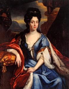 Portret van Anna Maria Luisa de'Medici (1667-1743), keurvorstin van de Palts