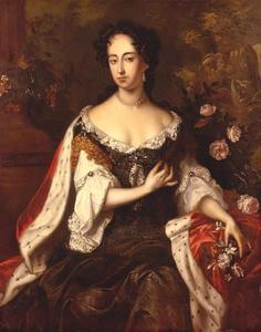 Portret van Maria II Stuart (1662-1695)