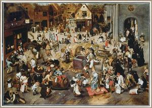 De strijd tussen Carnaval en Vasten
