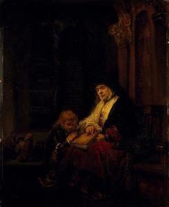 Hanna en Samuël in de tempel