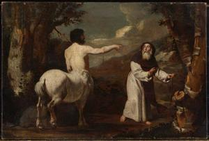 De H. Antonius Abt en de centaur