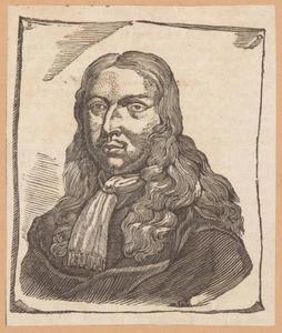 Portret van Adriaen van de Velde (1636-16720
