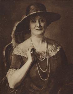 Portret van Maria Anna Francisca Josephina Otten ( -1929)