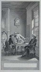 Illustratie bij 'De snapper' uit de Fabelen en vertelsels van F.C. Gellert