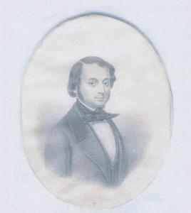 Portret van Dirk Hendrik van Oosterwijk Bruijn (1827-1847)