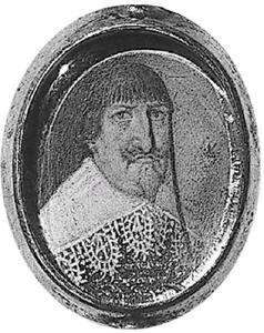 Portret van Christiaan IV (1577-1648) van Denemarken