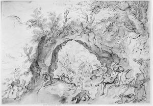 Actaeon en de nimfen (Metamorfosen 3:138-253)