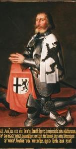 Portret van landcommandeur Hendrik van Alckemade