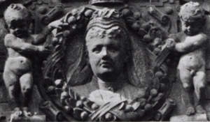Portret van koningin Emma , prinses van Waldeck -Pyrmont (1858-1934)