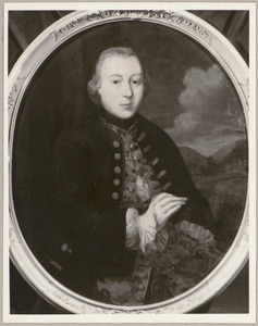 Portret van Assuerus Johan Veldtman (1734-1781)