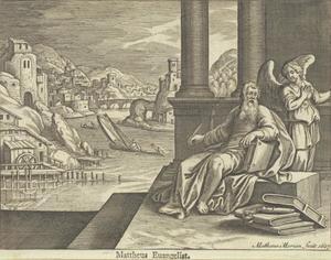 Een engel verschijnt aan Matteüs de Evangelist