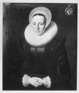 Portret van Janneken Hooft (1582-1642)