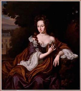 Portret van Eva Susanna Pellicorne (1670-1732)