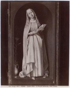 De Annunciatie: De maagd Maria
